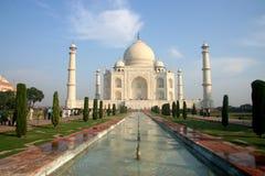 индийское mahal taj стоковые фотографии rf