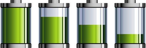 Индикатор батареи иллюстрация вектора