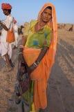 Индия 2011 ноябрь pushkar Стоковая Фотография RF