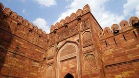 Индия agoraphobic Красный форт стоковая фотография