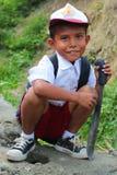 индонеец мальчика Стоковая Фотография
