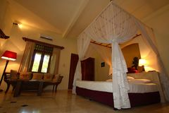 индонеец спальни Стоковое фото RF