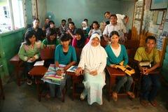 индонезийская школа Стоковая Фотография RF