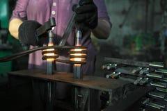 индукция топления Стоковое Изображение RF
