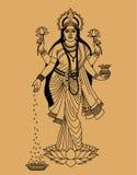 Индусская богина Стоковое Изображение RF