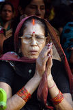 индусская женщина Стоковое Изображение RF