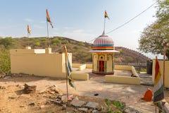 Индусская святыня в форте Nahargarh, Джайпур, Раджастхан, Индия стоковое изображение rf