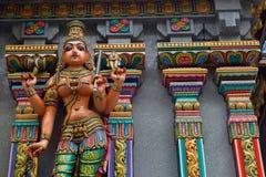 Индусский бог в централи Бангкока, место для поклоняться стоковая фотография