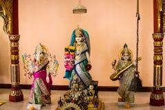 Индусский бог как священный в индусском виске Стоковая Фотография