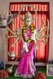 Индусский бог как священный в индусском виске Стоковые Фотографии RF