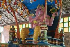 Индусский бог как священный в индусском виске Стоковое фото RF