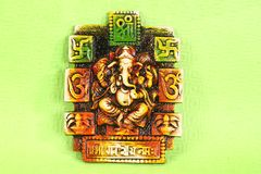 Индусский бог Ganesh или Ganapati Стоковое Изображение
