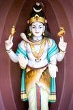 индусский висок камня скульптуры Стоковое Изображение
