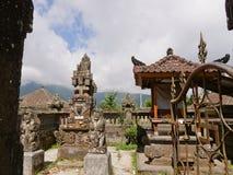 Индусский висок на Бали Стоковое Фото