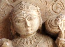 индусский висок скульптуры Индии jaipur Стоковая Фотография