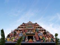 индусский висок статуи Стоковое Изображение RF