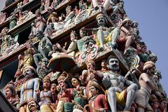 индусский висок Стоковое Изображение