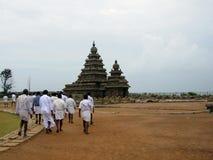 индусский висок mahabalipuram Стоковая Фотография