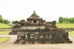 Индусский висок Sambisari - центральная часть стоковое изображение