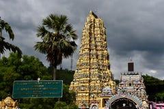 индусский висок sri lanka стоковое фото