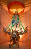 Индусский идол Durga Стоковое Фото