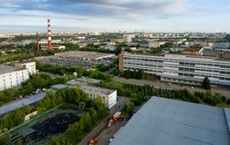 индустриальная зона Стоковая Фотография
