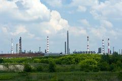 Индустриальная зона Стоковое Изображение