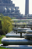 Индустриальная зона Стоковые Фотографии RF