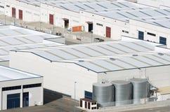 Индустриальная зона Стоковая Фотография RF