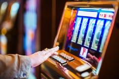 Индустрия казино играя в азартные игры стоковые изображения rf