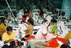 Индустрия одежд в Бангладеше стоковое изображение