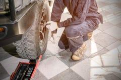 Индустрия ремонта автомобиля Стоковое Фото