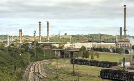 Индустрия севера Испании стоковое фото
