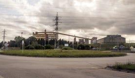 Индустрия севера Испании стоковая фотография