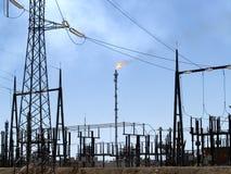 Индустрия топлива Стоковые Изображения