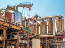 Индустрия фабрики сахарного тростника Стоковые Изображения RF