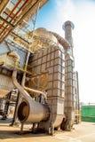 Индустрия фабрики сахарного тростника Стоковое Изображение