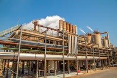 Индустрия фабрики сахарного тростника Стоковые Фотографии RF