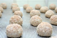индустрия хлебопекарни стоковое изображение