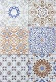 Индустрия Cerami объекта абстрактной предпосылки плиток керамическая поверхностная Стоковое фото RF