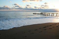 индюк захода солнца Средиземного моря antalya Стоковое Изображение RF