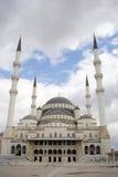 индюк мечети kocatepe ankara стоковое изображение