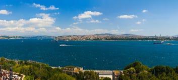 индюк панорамы istanbul Стоковая Фотография