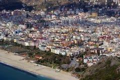 индюк пляжа alaya стоковые фото