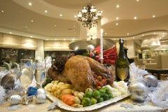 индюк рождества вкусный стоковое изображение rf