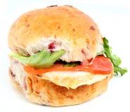 индюк сандвича клюквы стоковая фотография