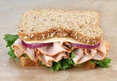 индюк сандвича сыра здоровый Стоковое Изображение RF