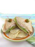 индюк сандвича стоковые фото