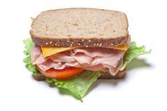 индюк сандвича стоковая фотография