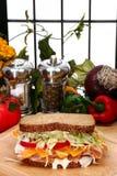индюк сандвича стоковые изображения rf